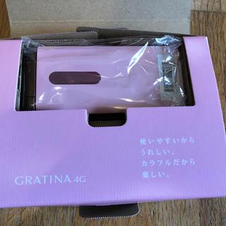 キョウセラ(京セラ)のほぼ新品シムフリーKYF31SPA ガラケーピンク(携帯電話本体)