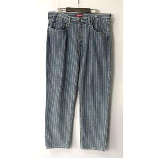 Supreme - 【H】Supreme Levi's Pinstripe 550 Jeans 36