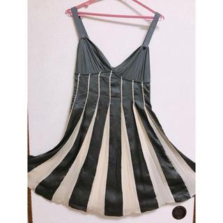 ダブルスタンダードクロージング(DOUBLE STANDARD CLOTHING)のダブルスタンダードクロージング sovのシルクドレスワンピ(ひざ丈ワンピース)
