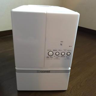 ミツビシデンキ(三菱電機)の三菱重工 スチームファン蒸発式加湿器 SHE60RD-W roomist(加湿器/除湿機)