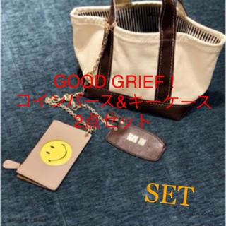 ドゥーズィエムクラス(DEUXIEME CLASSE)のGOOD GRIEF!SMILE コインパース& THANK YOU キーケース(コインケース)