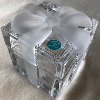 Tiffany & Co. - ティファニー TIFANNYクリスタル リボン 小物入れ 未使用