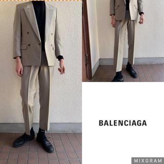 Balenciaga - 極上 BALENCIAGA セットアップ  ベージュ ダブル