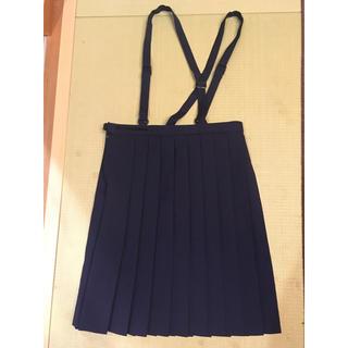 女児 小学生 女の子 紺プリーツスカート 制服 150