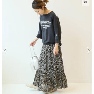FRAMeWORK - 新品 フレームワーク NE QUITTEZ PAS別注フラワープリント スカート