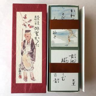 金の星社 - 新品俳聖かるた 松尾芭蕉 /俳諧かるた 海外お土産
