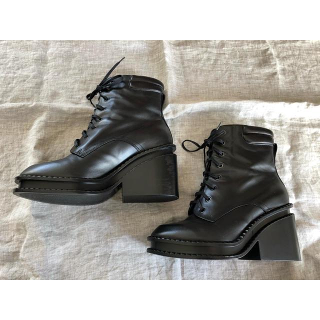 Drawer(ドゥロワー)の新品 ロベールクレジェリーROBERT CLERGERIE 編み上げブーツ レディースの靴/シューズ(ブーツ)の商品写真