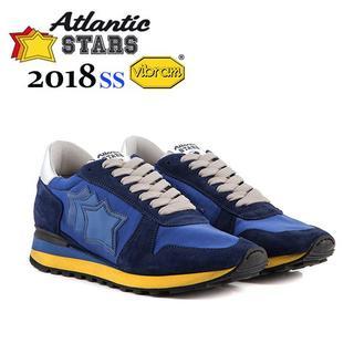 94 Atlantic STARS ブルー ビブラム スニーカー size 43(スニーカー)