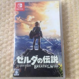 ニンテンドースイッチ(Nintendo Switch)のゼルダの伝説ブレスオブザワイルド Switch(家庭用ゲームソフト)