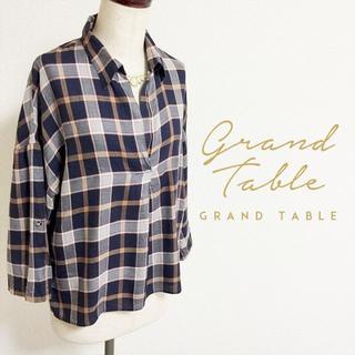 SCOT CLUB - GRANDTABLE☆オーバーシルエットチェックシャツ