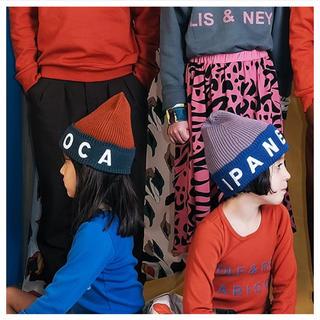 コドモビームス(こどもビームス)の【完売】タグ付き☆WOLF&RITA2019AWニット帽2枚セット^^(帽子)