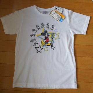 ミッキーマウス(ミッキーマウス)の【新品】ミッキーTシャツ(Tシャツ/カットソー)