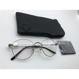 Chrome Hearts - クロムハーツ メガネ サングラス BUBBA II 黒 シルバー 新品