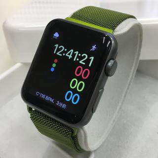 Apple Watch - Apple Watch SPORT 42mm グレー色 アップルウォッチ