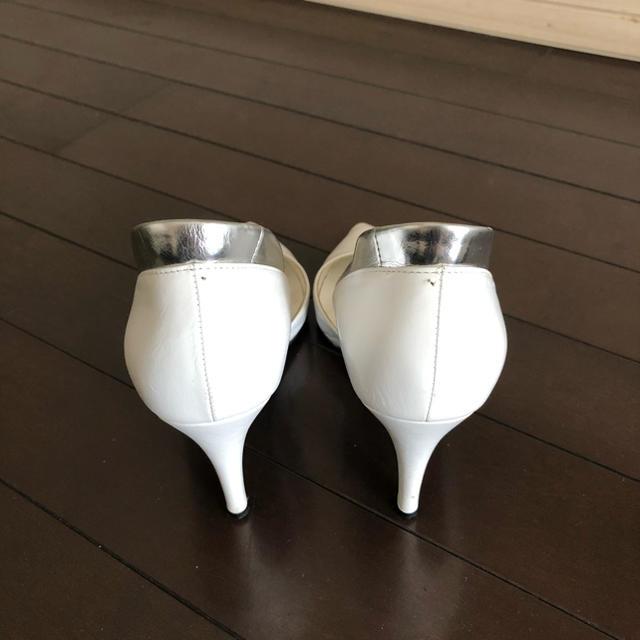 DIANA(ダイアナ)のDIANA☆ホワイトパンプス レディースの靴/シューズ(ハイヒール/パンプス)の商品写真