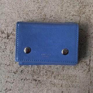 アメリヴィンテージ(Ameri VINTAGE)のはねず様専用 ノベルティ限定PVC財布 ブルー(財布)