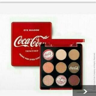 ザフェイスショップ(THE FACE SHOP)のコーラ コカ・コーラ アイシャドウ ザフェイスショップ コカコーラ Cola(アイシャドウ)