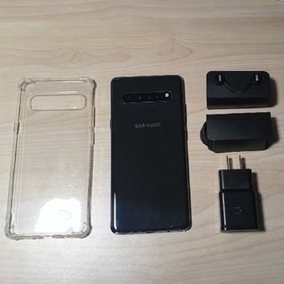 SAMSUNG - 美品 Samsung Galaxy S10 5G 256GB ブラック