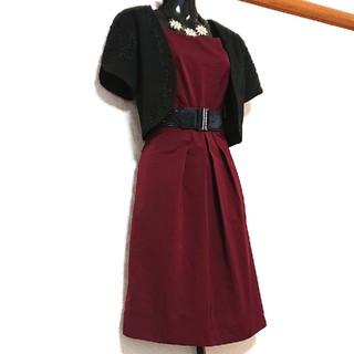 アンタイトル(UNTITLED)のUNTITLED ドレス ワンピース(ひざ丈ワンピース)