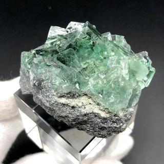 蛍石 中国湖南省 Xianghualing産 鉱物 原石[OH15-37]