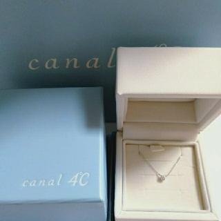 canal4℃ - canaIK10 金一粒ダイヤモンド💎ネックレス