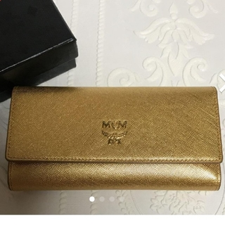 エムシーエム(MCM)のMCM  財布 ゴールド (財布)
