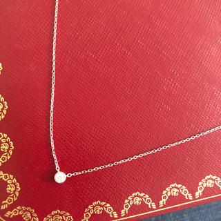 JEWELRY TSUTSUMI - k10ホワイトゴールド ダイヤモンドネックレス