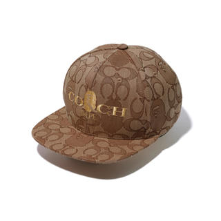 A BATHING APE - BAPE® X COACH JACQUARD BASEBALL CAP