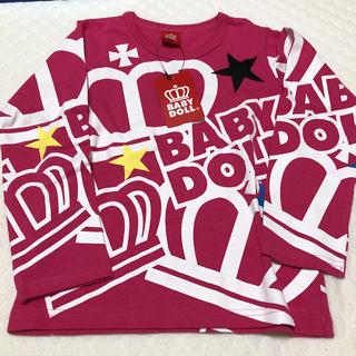 ベビードール(BABYDOLL)のロンt 120 新品(Tシャツ/カットソー)