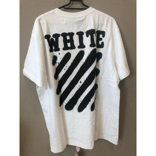 OFF-WHITE - off-white Tシャツ オーバーサイズ