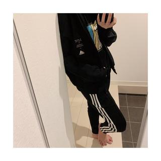adidas - adidasジョガーパンツ ブラック