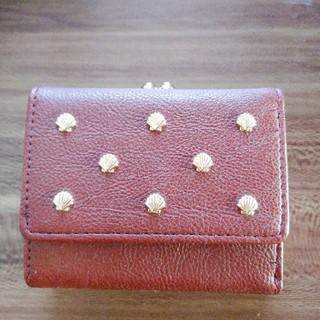 フェリシモ(FELISSIMO)のフェリシモ がま口 手のり 財布 ボルドー 新品未使用(財布)