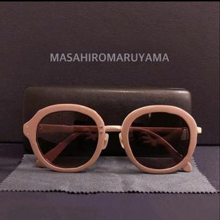 人気 MASAHIROMARUYAMA サングラス M-0006 ベージュ