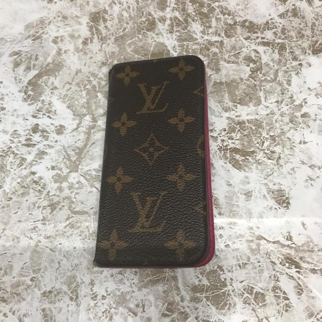 gucci iphone8 ケース 財布 、 LOUIS VUITTON - ルイヴィトン フォリオ iPhoneケース アイフォンケース スマホ カバーの通販
