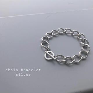 トーガ(TOGA)の再入荷 chain bracelet silver ➀(ブレスレット/バングル)