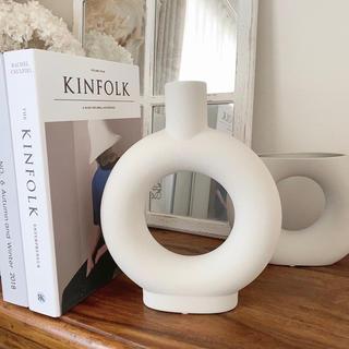 アクタス(ACTUS)の海外より  新作テラコッタ花瓶 ドライフラワー 一輪挿し フラワーベース(花瓶)