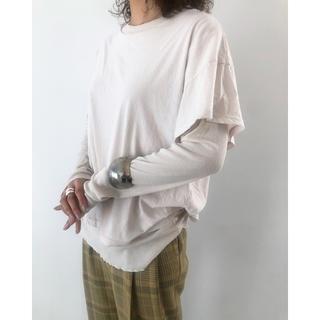 TODAYFUL - 【新品】Layered Sheer Long T-Shirts