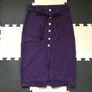 アナップ(ANAP)のANAP タイトスカート ラップスカート(ひざ丈スカート)