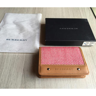 BURBERRY - BURBERRY 新品未使用 コインケース