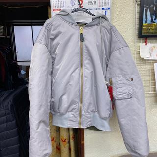 alpha - VETEMENTS×ALPHA MA-1 ボンバージャケット