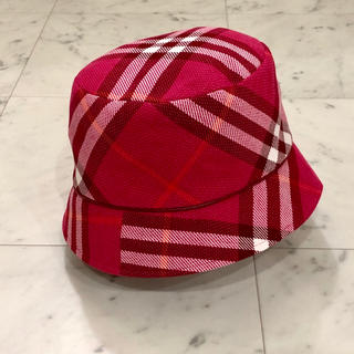BURBERRY BLUE LABEL - 【新品未使用】BURBERRY BLUE LABEL  ハット