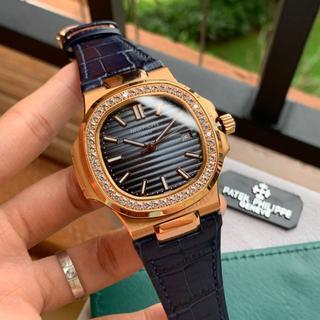 パテックフィリップ(PATEK PHILIPPE)のパテックフィリップ ノーチラ  ダイヤ ゴールド メンズ 腕時計(その他)