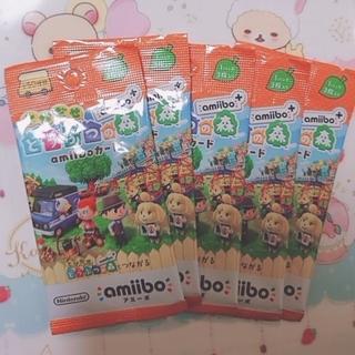 任天堂 - とびだせどうぶつの森 amiiboカード 5パックセット