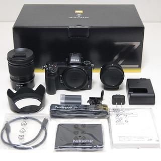 ニコン(Nikon)のNikon ニコン Z6 24-70+FTZマウントアダプターキット(デジタル一眼)