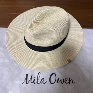 ミラオーウェン(Mila Owen)のハット(麦わら帽子/ストローハット)