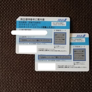 ANA(全日本空輸) - ANA 株主優待券 2枚セット