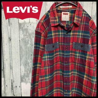 リーバイス(Levi's)のリーバイス Levi's チェックシャツ  ネルシャツ(シャツ)
