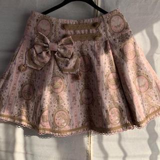 アンジェリックプリティー(Angelic Pretty)のangelic pretty ユニコーンゴブラン スカート ピンク(ミニスカート)