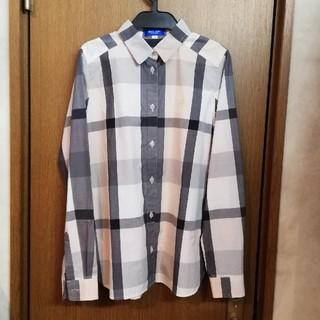 BURBERRY - バーバリー ブルーレーベル チェックシャツ 38