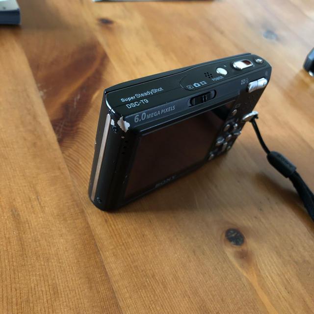 SONY(ソニー)のSONY  Cyber−Shot  DSC-T9 ブラック スマホ/家電/カメラのカメラ(コンパクトデジタルカメラ)の商品写真
